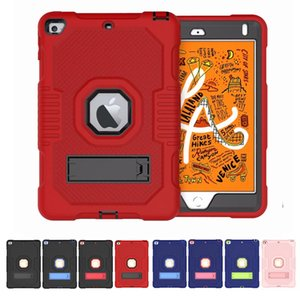 Defender shockproof Robot Case military Extreme Heavy Duty silicone cover for ipad mini 4 5 mini45 MINI5