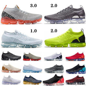 2020 Hot Sale 2.0 Women Mens Running Shoes Knit Multi-Color Real Quality Zebra Team Red Orbit Volt Racer TN Plus Trainer Sneakers 7-12 luj