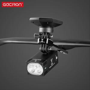 GACIRON luz de bicicleta Suporte de Montagem H11 liga de alumínio multifuncional Camera \ bicicleta Titular computador ajustável guiador