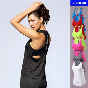 Frauen-Spitzenkleidung Backless Yoga Tops Compression Sweatshirts Frauen Sport-T-Shirts ärmel Workout Tuniken Sexy Tank Tops