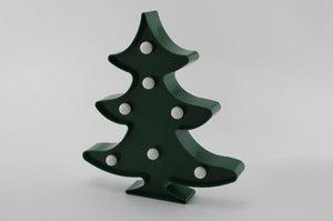 Cgjxs Christmas Tree Unicornio Led Night Lights Unicorn partito 3D LED lampada da tavolo della novità Animal Marquee Iscriviti lampada lettera Luminaria capretti del bambino