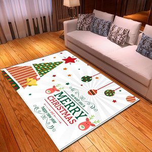 Christmas festival series 3D cartoon carpet NON SLIP MAT CARPET living room bedroom children's room decoration fairy tale decoration supplie