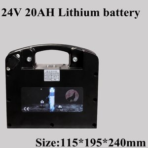 24V 20Ah Lithium Li-ion Rechargeable Battery Pack for Electric Wheelchair Power Folding Wheelchair+2A Charge