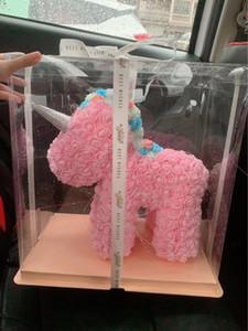 La meilleure qualité Unicorn Rose Bear 520 Saint-Valentin sortie cadeau
