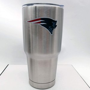 Cowboys Tumbler NCAA Tumbler Stainless Steel Tumbler Travel Mug Double Wall Stainless Steel Vacuum Insulation with Lid