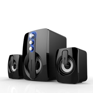 Nuovo 5.0 Bluetooth Speaker Subwoofer portatile Altoparlante stereo 3D Surround Music Center Home Theatre Audio sistema multifunzionale Usa