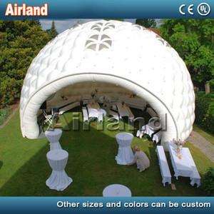 NEW Inflatable Mond Iglu-Zelt für Gewerbe Hochzeit Ereignis Diskothek Bar Pool Patio Golf aufblasbaren Kuppelzelt mit LED-Licht