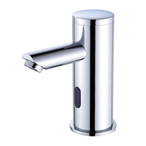 Automatic induction faucet integrated intelligent induction home used by infrared induction hand washing machine hot and cold