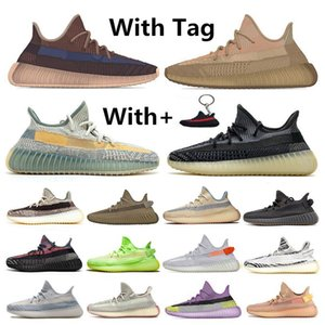 2020 New Kanye West ABEZ Asriel Israfil Marsh Running Shoes Tail Light Flax Zyon Linen Citrin Gid Clay Earth Cinder Mens Trainers Sneakers