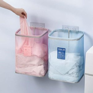 Foldable Laundry Basket Organizer Laundry Hamper Clothes Basket Washing Bag Foldable Storage Collapsible Folding d3