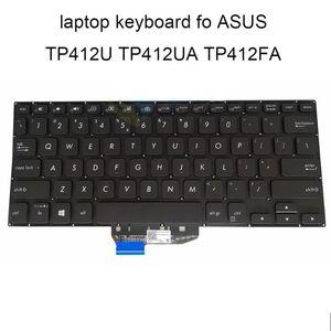 BT UI Yedek klavyeler ASUS için TP412 arka ışık klavye Flip TP412FA TP412UA İtalyan İngilizce siyah ASM18A2 iyi vivobook
