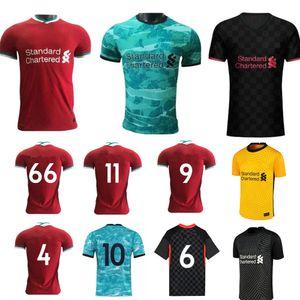 Fino a 4XL Nuovo 2020-21 superiore qualità tailandese Fan versione del lettore maglia da calcio Football Kit calda della squadra Goldkeeper Jersey su misura rosso e blu