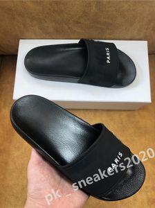 2020 Beans Beet Best Hombre Sandalias para mujer Zapatos Top Calidad Slide Summer Fashion Wide Skill Slipper Slipper Slipper Flip Flop con el tamaño de la caja 35-45