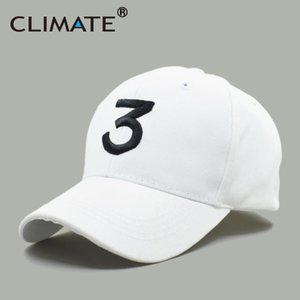 CLIMATE Rapper Baseball Cap Chance The Rapper 3 Hat Caps Black Hip Hop Snapback Hat Caps Streetwear Snapback Sun for Men