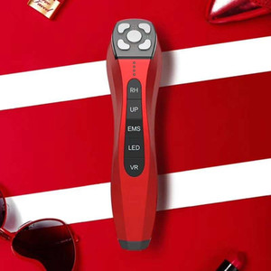 Facial RF Face Wrinkle Remover Lift Home 5 In 1 EMS Skin Tightening Machine