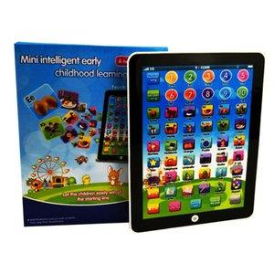 İngilizce Rusça Öğrenme Makinesi Alfabe Bebek Tablet Eğitim Oyuncak For Children Elektronik Dokunmatik Tablet Bilgisayar Çocuk Oyuncak