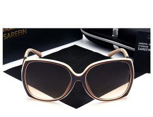 فاخر العلامات التجارية مصمم النظارات الشمسية المرأة ريترو خمر حماية أنثى الأزياء نظارات شمسية للنساء نظارات الرؤية العناية مع شعار