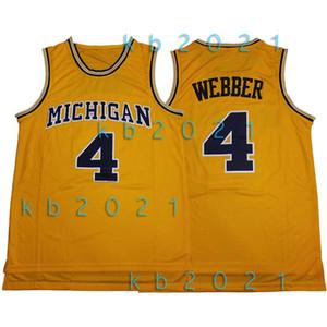 NCAA Chris Webber 4 Jersey Michigan Wolverines College-David 50 Robinson LeBron James 23 Vince 15 Fuhrmann Kevin Durant 7 Basketball-Trikots