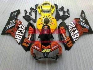 ABS best fairings kit for HONDA cbr1000rr fairing kits 2004 2005 2006 2007 fairing high grade yellow red black CBR 1000 RR 04 05 06 07