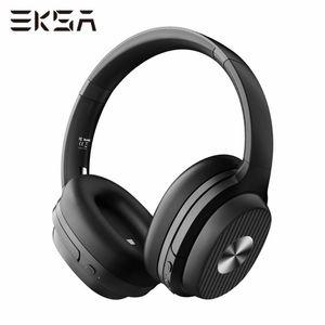 EKSA E5 ANC 5.0 Bluetooth Cancelling Headphones de bruit actif Casque pliable Casque sans fil 920mAh Avec cryptogramme 8.0 Microphone