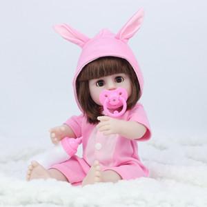 Song julho 38CM completa Silicone Água potável Pee Renascer corpo da boneca de brinquedo para a menina Bebe Bathe brinquedo da menina da criança Presente de aniversário 200925