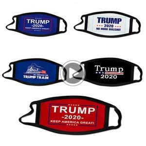 Algodón 3d máscaras a prueba de viento Den Trump Mout de Adultos de América Estados Unidos Máscara Elección Presidencial Amy