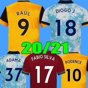 20 21 wolves futbol forması Wolverhampton Wanderers futbol forması RAÚL NEVES DIOGO ADAMA COADY MOUTINHO BENNETT FÁBIO SILVA VITINHA soccer jersey