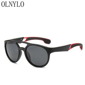 Neue Männer Sonnenbrille PC-Platz Rahmen Marke Designer Sonnenbrillen polarisierte Treiber Klassische Polar Driving UV4400