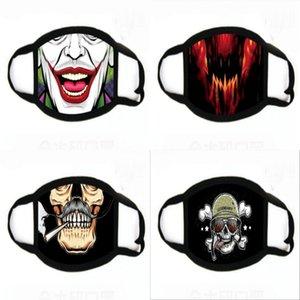 En Máscara de dibujos animados 3D Den Fa Por Er Mout máscara a prueba de polvo Anti- Wasale Den impresión Máscaras # 991