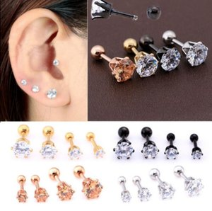 Steel Ear Claw New Punk Six Jewelry Hot Studs Nail 4 Nose Nose Nails, Rings Bone Steel High-quality Earrings, Stainless Stainless ERQrvypOr