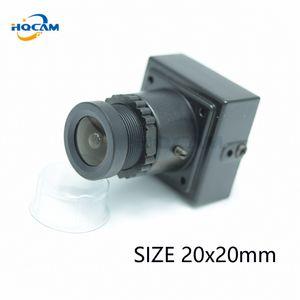 """HQCAM 700TVL 1/3"""" Mini Video di Sony eccellente CCD a colori mini Piazza telecamera a colori 20x20mm Surveillance Camera Industrial"""