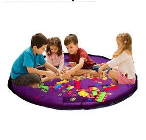 Toy Storage Bags Kids Toys Drawstring Organizer Round Play Mat Blanket Rug Practical Storage Bags Practical Waterproof Organizer LSK1062