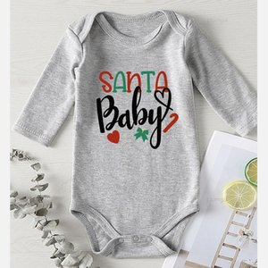 Baby Girl Rompers Cotton Christmas Costume Kid Infant Boy Winter Clothes Fall Clothes for Newborn Printing Children Jumpsuits