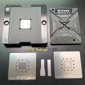 AMAOE CPU Manyetik Reballing Platformu A8, A9, A10 A11, A12 Reballing Kiti ile BGA Stencil tfn3 #