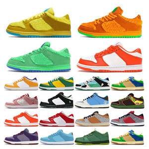 da ginnastica scarpe da corsa Bears Arancione Opti Giallo Verde Blu Fury Sashiko donne di sport allenatore di moda all'aperto