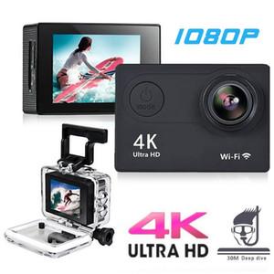 "Original H9 H9R Action Camera 1080p 60fps 20MP WiFi 2.0"" Ultra HD 4K Mini Helmet Cam DV Recoder WiFi Waterproof Sports Camera"