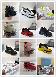 Moda Tasarımcısı Ayakkabı Açık Mesh sneaker Man kadınlar kutusu ile rahat nefes alabilen ayakkabı Yürüyüş klasik kalın dip seneaker moda