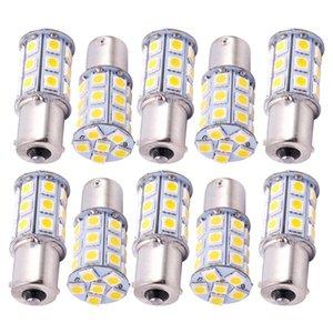 10X теплый белый 27 SMD LED 1156 1141 1003 RV Camper Трейлер Интерьер лампочками