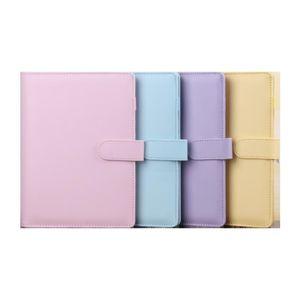 Libro mágico cuadernos linda A6 colores múltiples portátiles equipos de oficina escuela regalos de la fiesta del estudiante HHF913