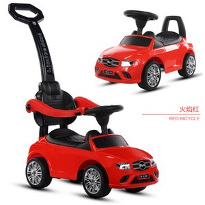 Four Wheel Childrens Baby Walker bicycle Outdoor Kids Ride on Toy Car Push Stroller Baby Scooter Kids Car with music1-4years old