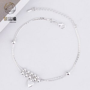 Accessories Korean new simple Mori style light luxury bell anklet for women