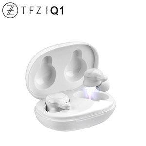 TFZ COCO Q1 Ture sem fio Bluetooth 5.0 Driver Dinâmico Redução de Ruído Esporte fone de ouvido HiFi áudio AAC / ABC / SBC CVC + DSP dual