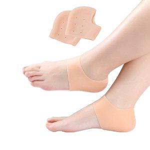 Silikon-Fuss-Sorgfalt-Werkzeug Moisturizing Gel Heel Socks Cracked Skin Care Schutz Pediküre Gesundheit Monitore Massage DHB94