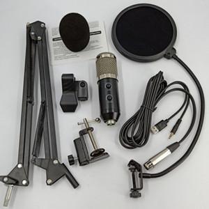 BM 800 Echo Microphone à condensateur filaire audio Microphone pour Studio d'enregistrement audio en direct en streaming avec diffusion NB35 stand Echo Mikrofon