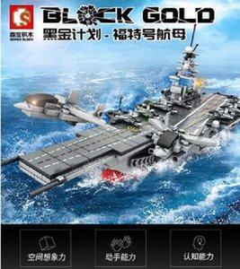 Sembo BLOCK, CONJUNTOS Militares chinos, barco de barco, Aircrafted, modelo de transporte buque de guerra de la técnica de bricolaje montaje, juguetes de bloques