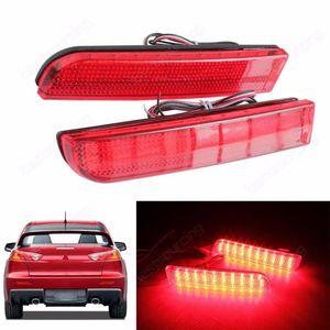 ANGRONG LED бампер отражатель красный объектива Tail Brake Стоп для Mitsubishi Lancer Evolution X Outlander Sport / RVR / ASX (CA256)