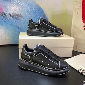 Comfort عارضة أحذية الرجال الرياضة scarpe chaussures جودة عالية منصة الأحذية مع مربع الأحذية المخملية 3 متر عاكس رجل التنزه trail tennis