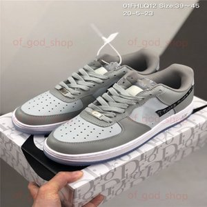 2020 New Men Women high quality Low One 1 Casual Shoes White Black Dunk Sports Skateboard Shoes Classic Trainers low Sneakers up