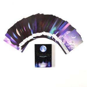 Moonology Oracle Kartları, 44 Oynama Kartları, Rehberlik İngilizce Gizemli Oku Gelecek Tarot Kartları Güverte Masa Oyunları