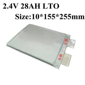 6pcs Lithium-Titanat-Batterie 2.4V 28AH LTO Bateria für DIY 12V 48V-Pack EV Ebike Solar Energy Billboard Golf Cart